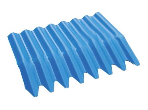 PVC耐候防腐加弯冲齿波浪瓦