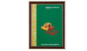 中国平安保险证书